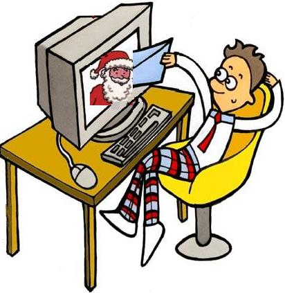 Write a note to santa online