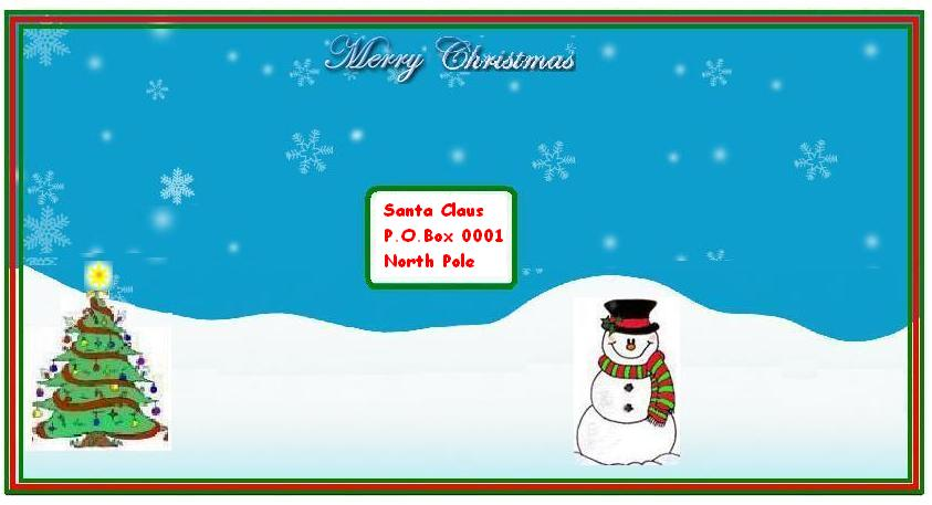 Write email santa claus free letters from santa claus free santa wow your letter to santa is enclosed inside the christmas envelop stamp that you selected is also pasted on it and letter is ready to be sent spiritdancerdesigns Images